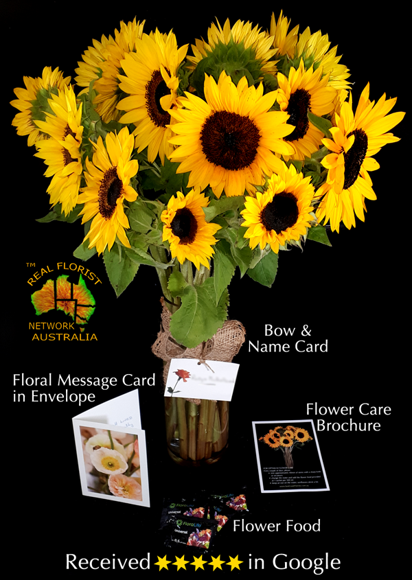 SUNFLOWERS DELIVERED